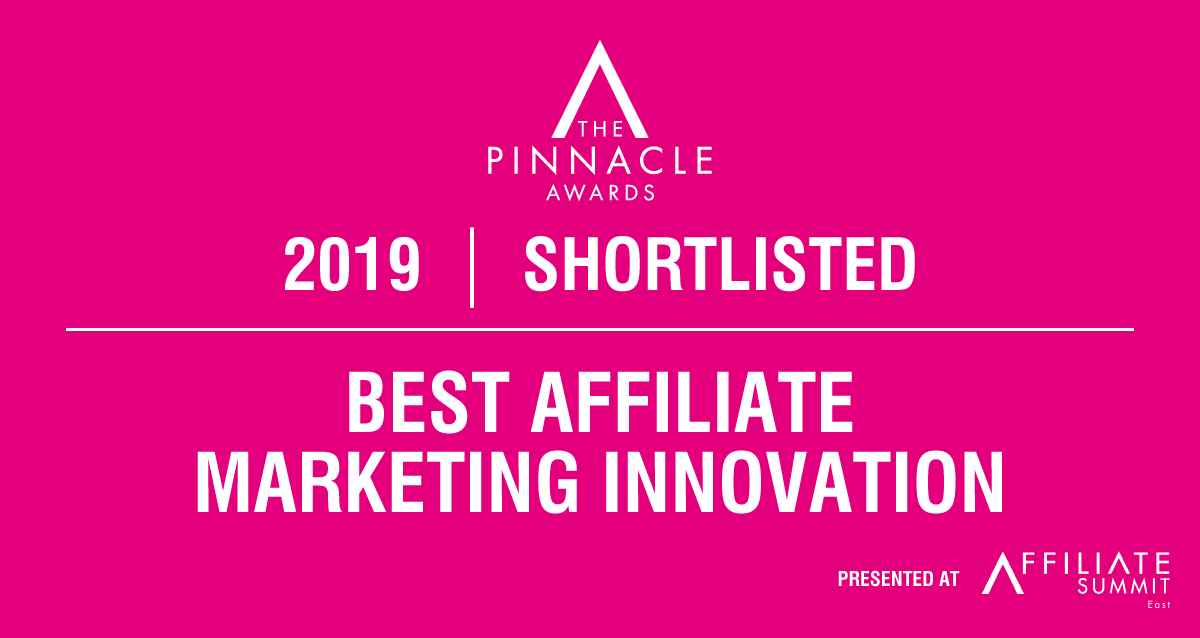 Trackonomics Shortlisted for Best Affiliate Marketing Innovation Award